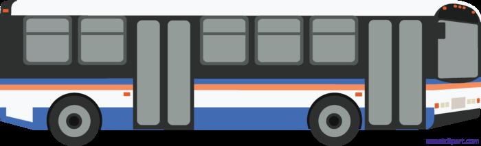 Bus clipart mass transit. Public sweet clip art