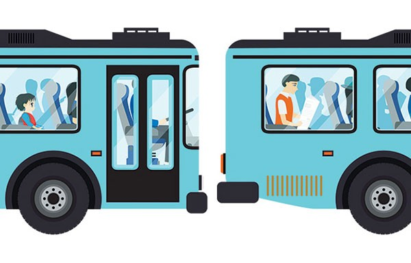 How can port authority. Bus clipart mass transit