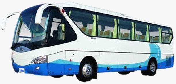 Blue car png image. Bus clipart motor coach