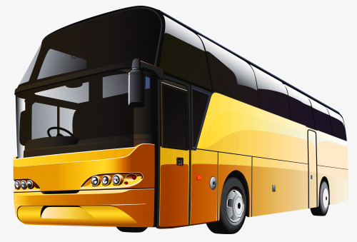 Coach clipart motor coach. Yellow buses png image