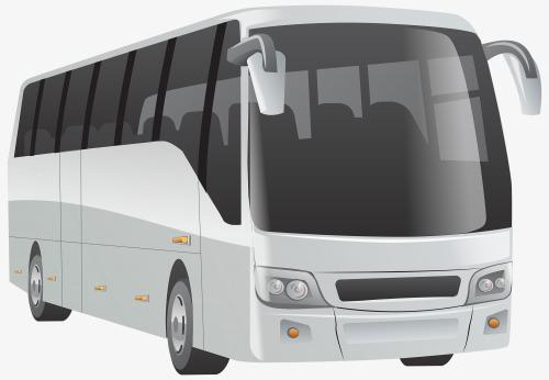 White passenger cars png. Bus clipart motor coach