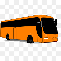 Bus clipart motor coach. Gray png image and