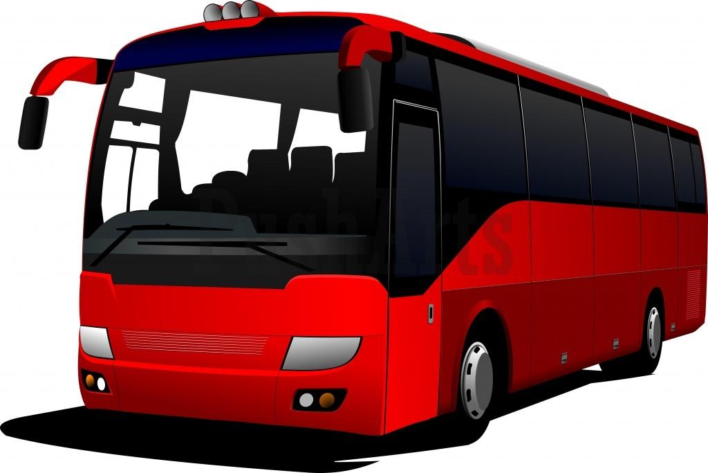 . Bus clipart motor coach