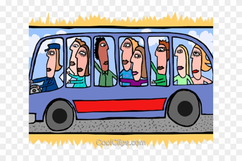 People on a hd. Clipart bus person