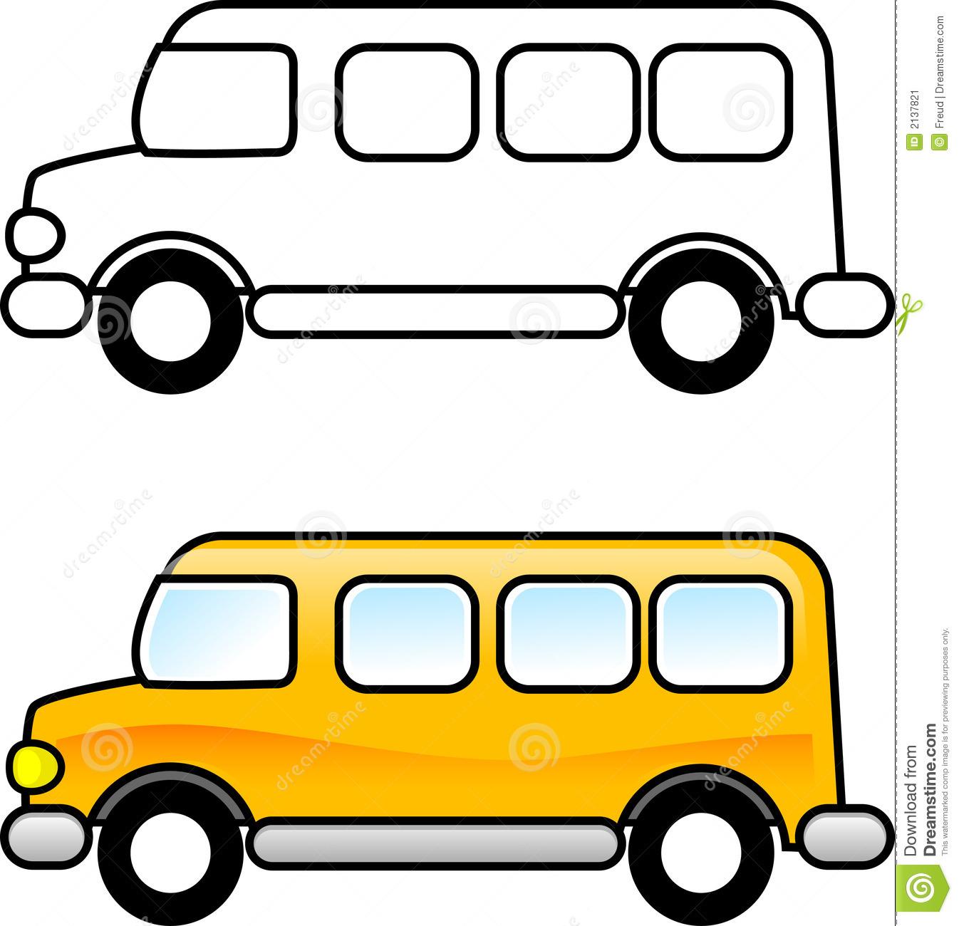 Bus clipart printable. Free clip art school