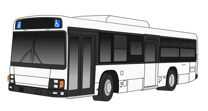 collection of public. Transportation clipart urban transport
