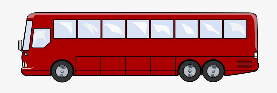 Png transparent cartoon free. Clipart bus long bus