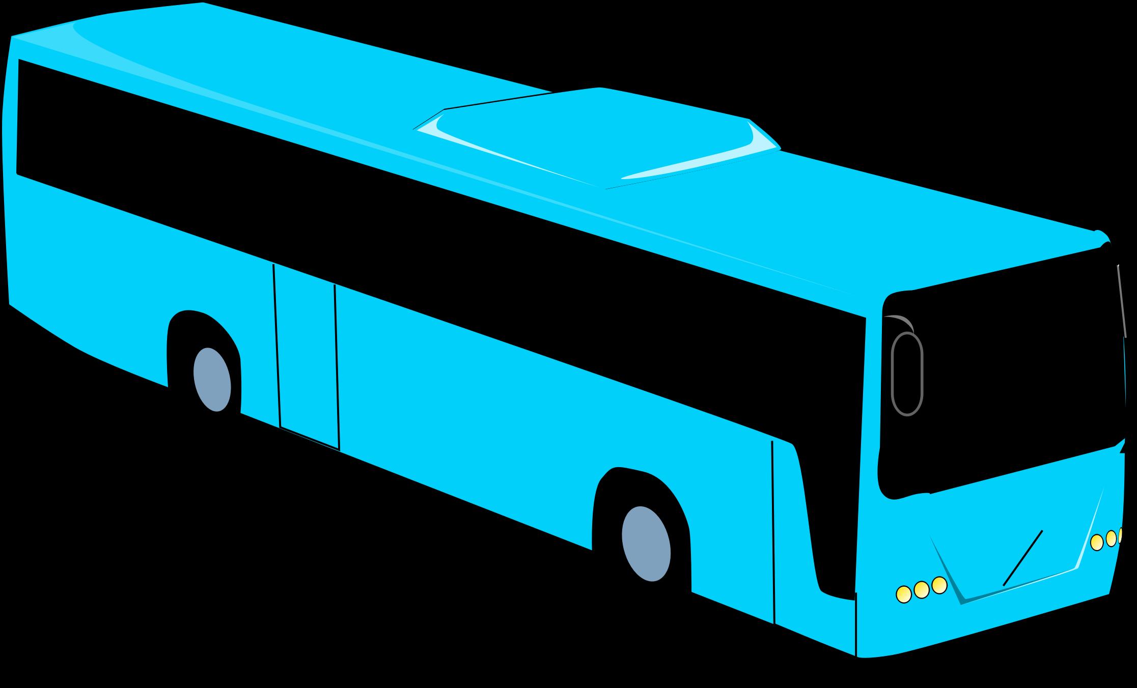 Big image png. Clipart bus long bus