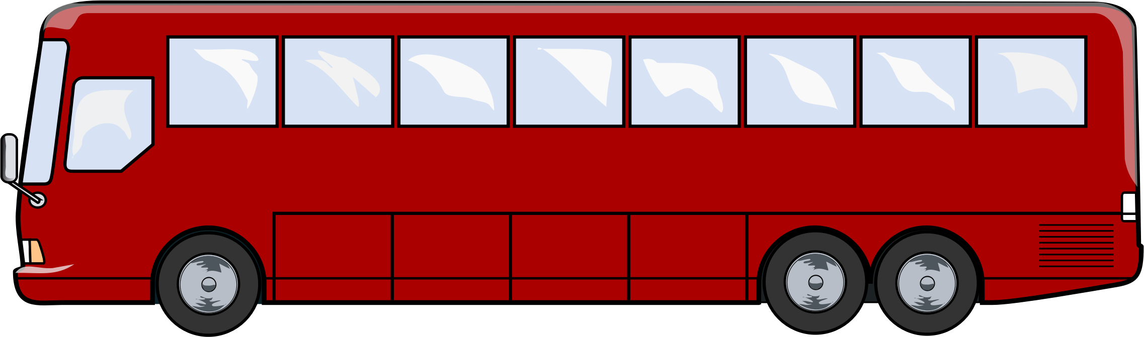 Bus clipart side view.  collection of city