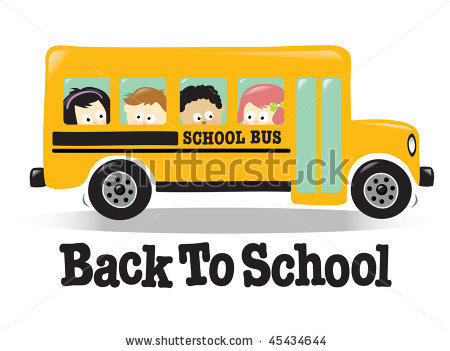 Bus clipart side view. Back to school w