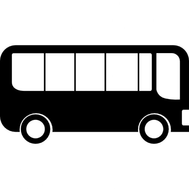 Icons free download icon. Bus clipart side view
