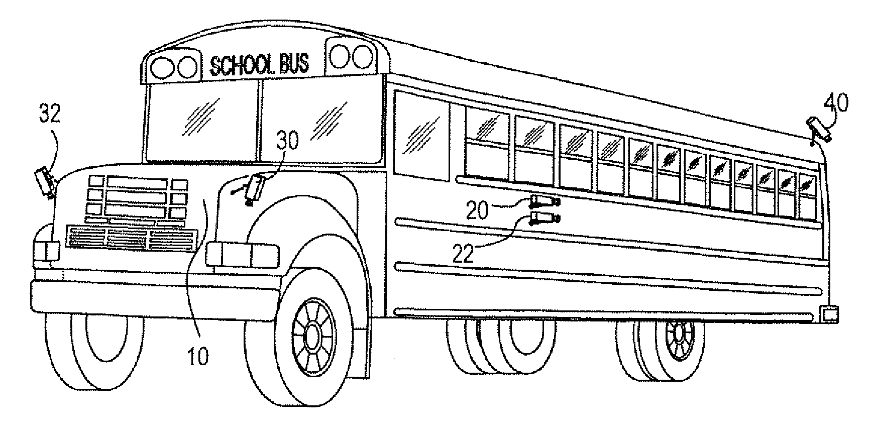 Free school black and. Bus clipart side view