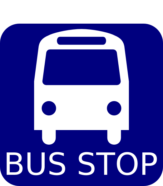 Free download clip art. Driver clipart bus stop sign