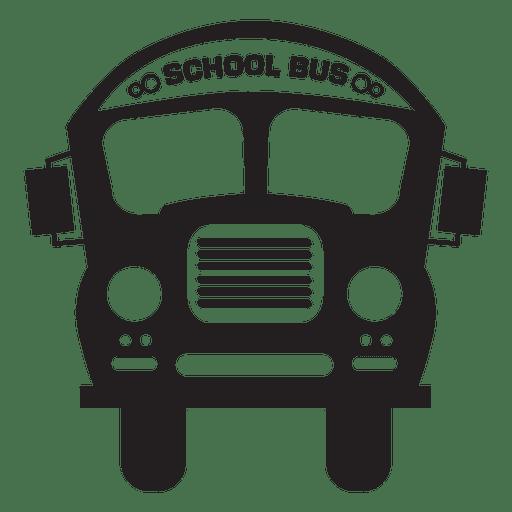 School clip art driving. Bus clipart silhouette