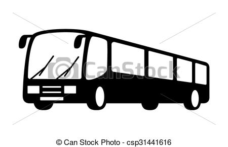 Transport at getdrawings com. Bus clipart silhouette