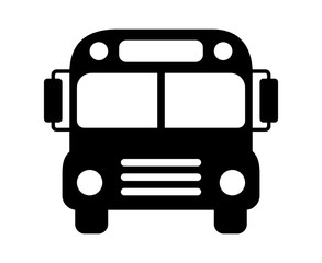 Bus clipart silhouette. School building at getdrawings