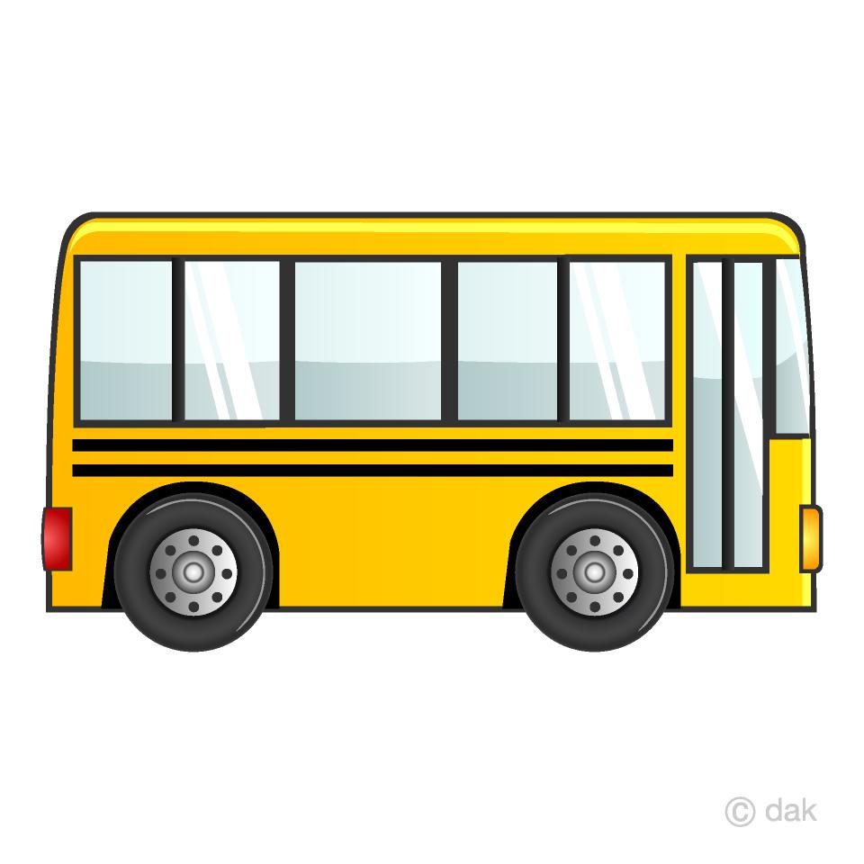 Bus clipart simple. School free picture illustoon