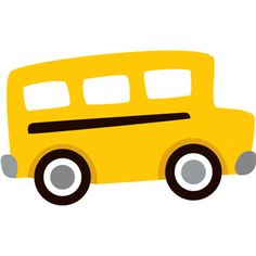 Bus clipart simple. Free printable tags name