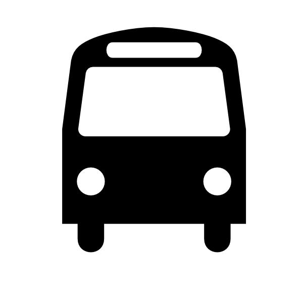 Bus clipart simple. Clip art at clker