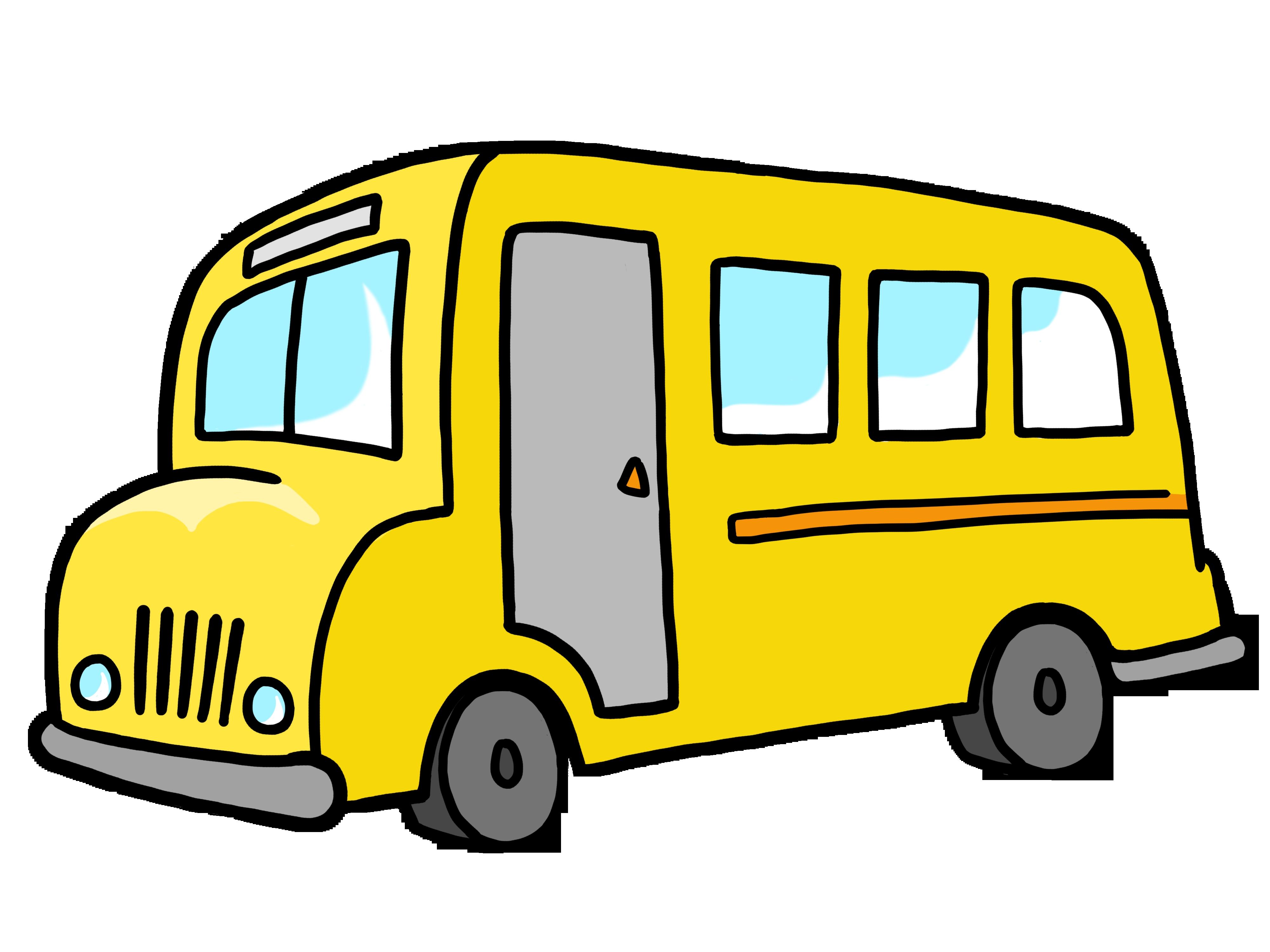 Bus clipart simple. Unique design digital collection