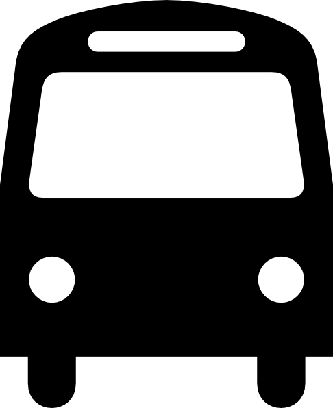 Bus clipart symbol, Bus symbol Transparent FREE for download on ...