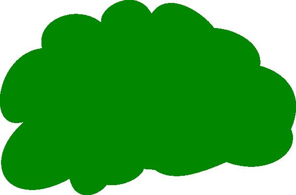 Bushes clipart green bush. Clip art at clker