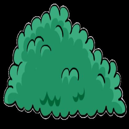 Images cartoon bush png. Bushes clipart cute