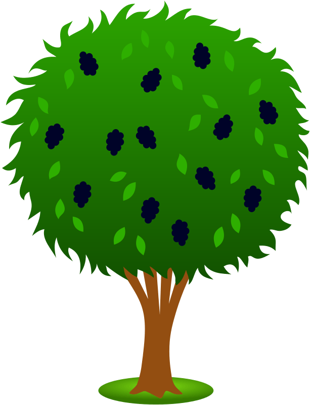 Bushes clipart cartoon. Green bush cliparts zone