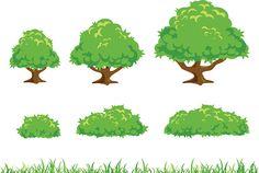 Bush clipart clip art.  best tree and