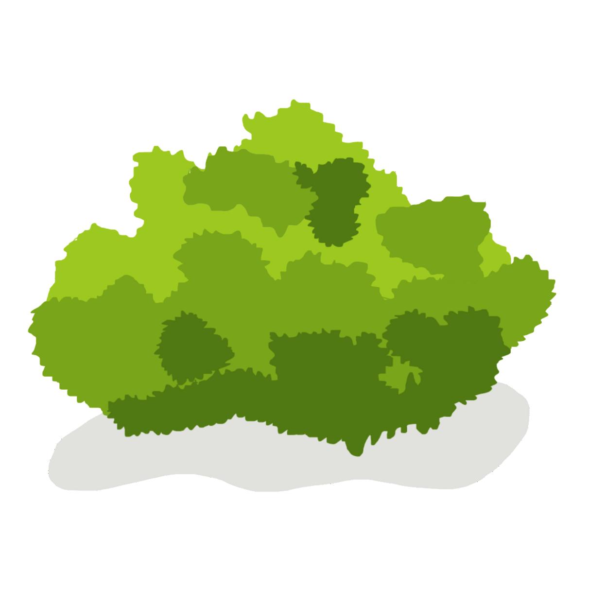 Bushes clipart animated. Bush free images at