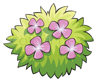 Bush clipart flower.  collection of high
