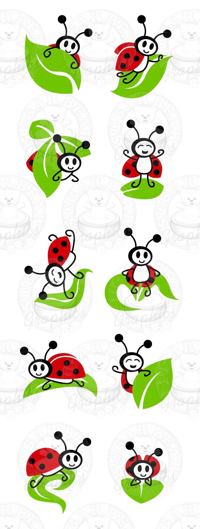 Bush clipart paint.  best ladybug painting