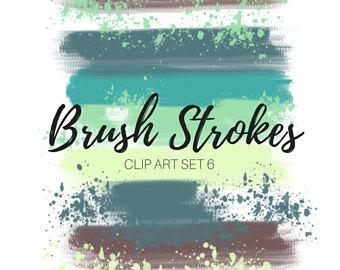 Watercolor clip art splash. Bush clipart paint