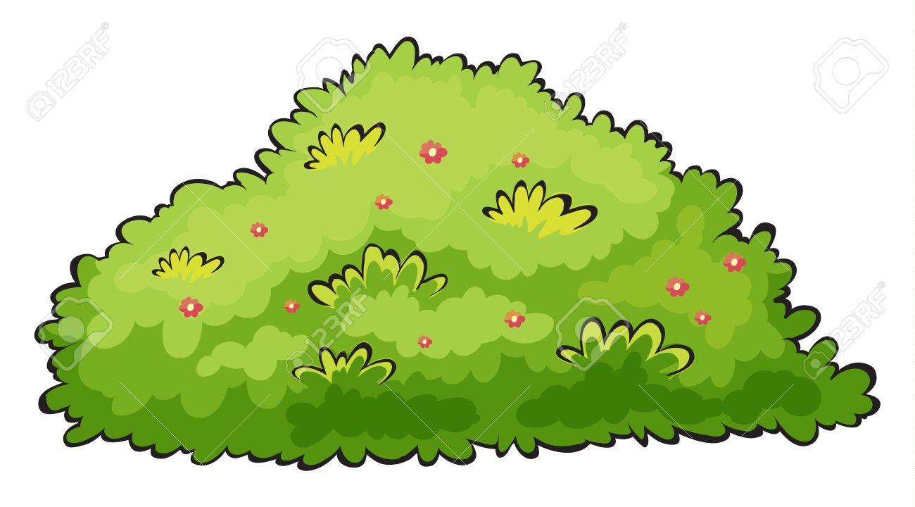 bushes clipart cute