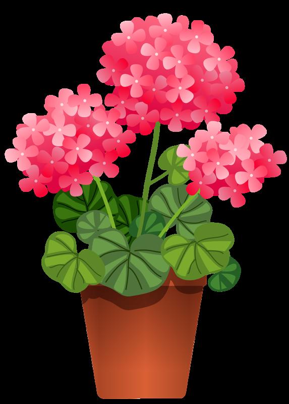 clipart flowers planter
