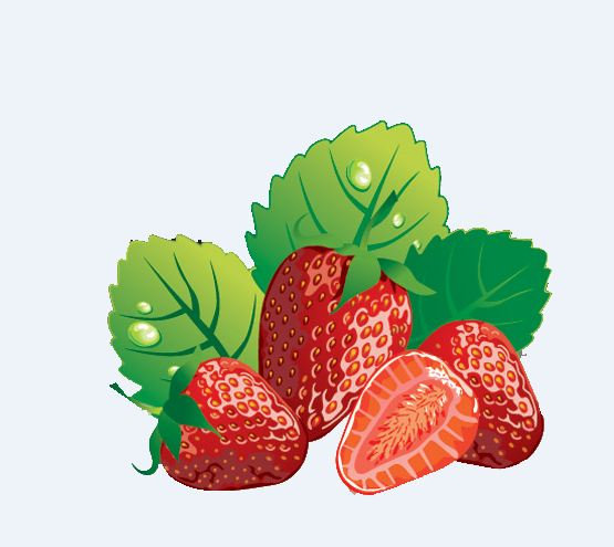 Bush clipart strawberry. Black and white images