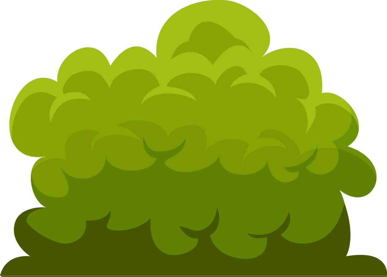 Bushes clipart transparent background.  collection of bush
