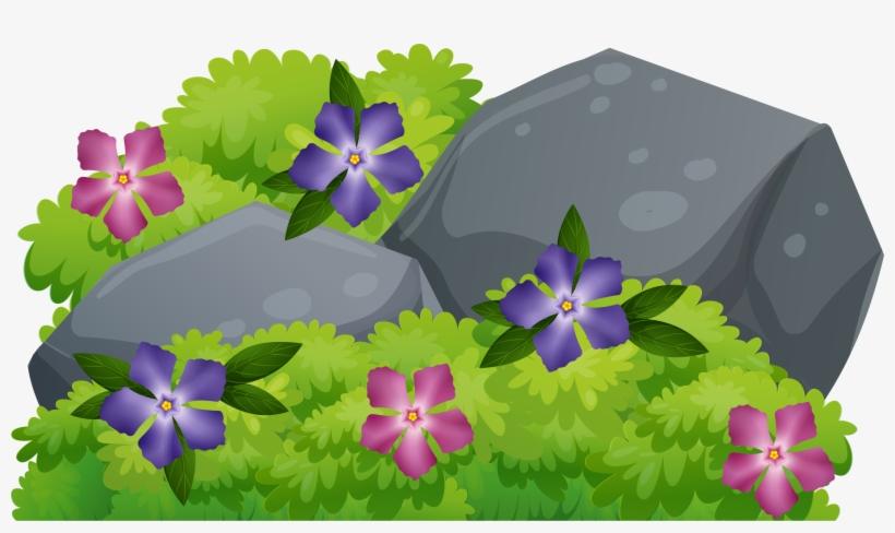 Bush clipart transparent flower. Bushes flowering clip art