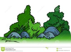 Image result for clip. Bushes clipart