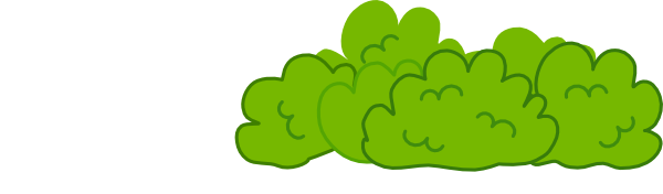 And shrubs . Bushes clipart