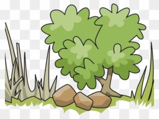 Bushes clipart animated. Shrub tall tree shrubbery