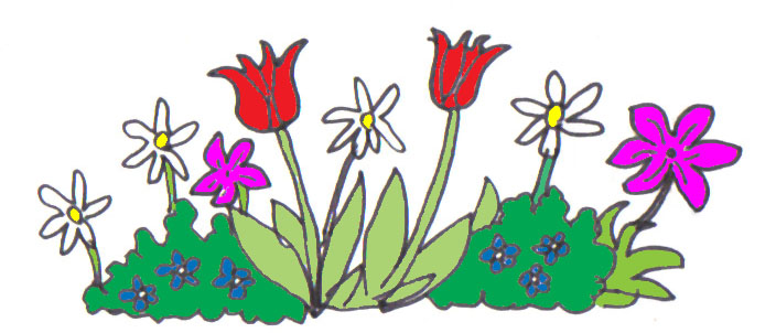Bushes clipart cartoon. Wild plants clipground showing