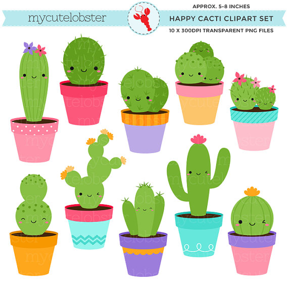 Img etsystatic com il. Cactus clipart modern