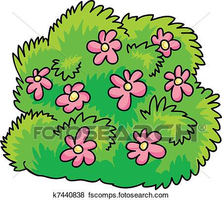 Bush cilpart peachy ideas. Bushes clipart flower