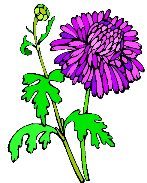 Bushes clipart flower. Flowers clip art and