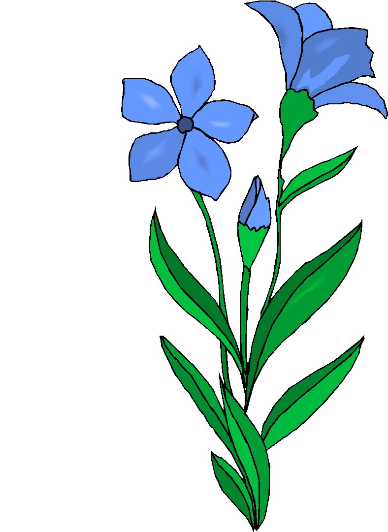 Bushes clipart flower. Clip art flowers and