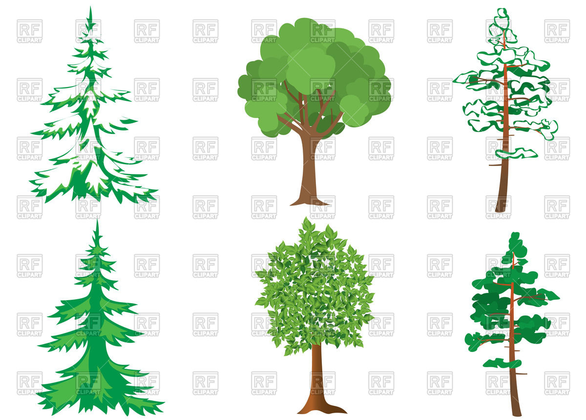 X free clip art. Bushes clipart forest