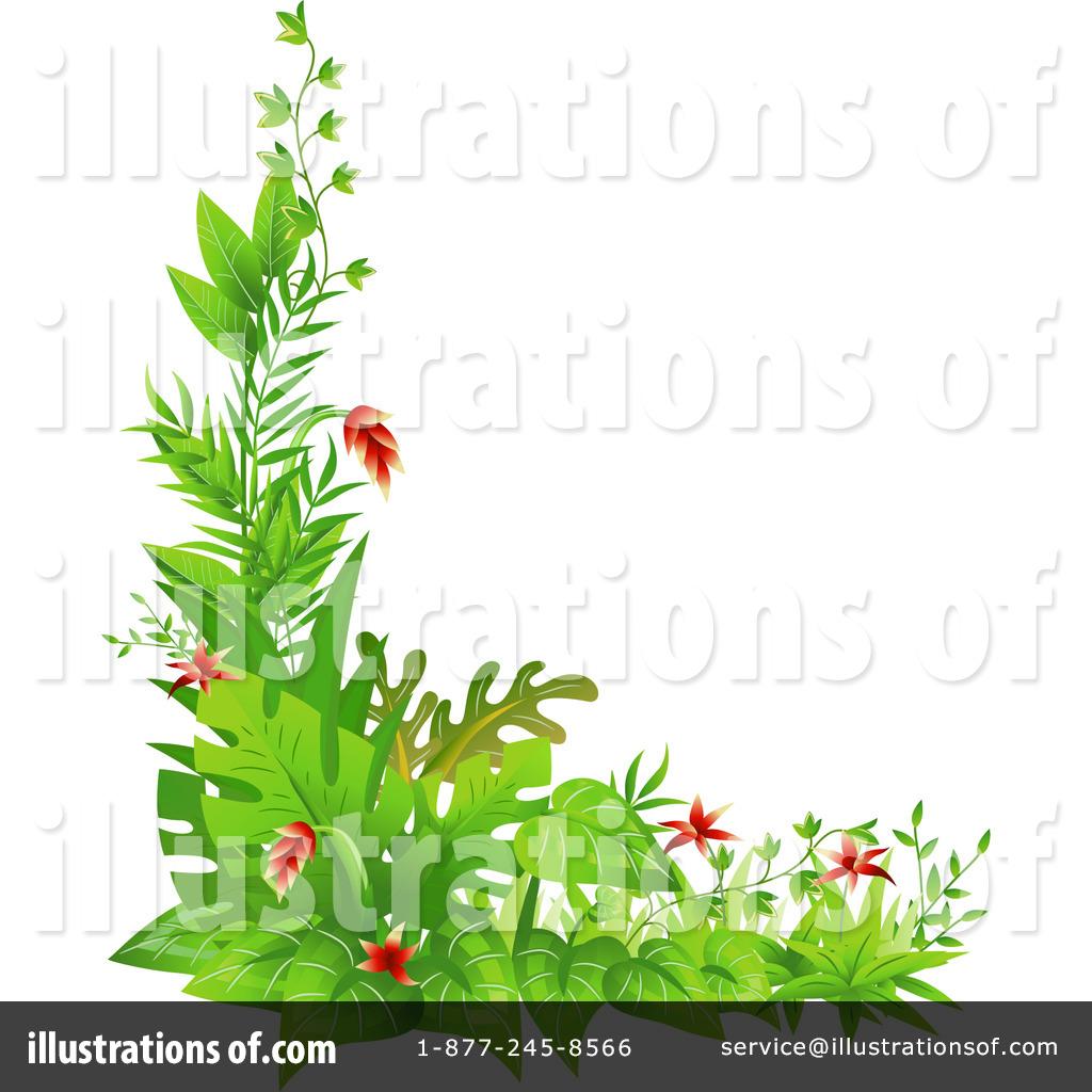 Plants illustration by bnp. Bushes clipart jungle