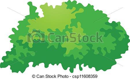 Icon bush panda free. Bushes clipart vector