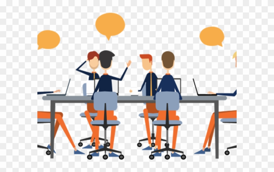 Business clipart. Communication transparent